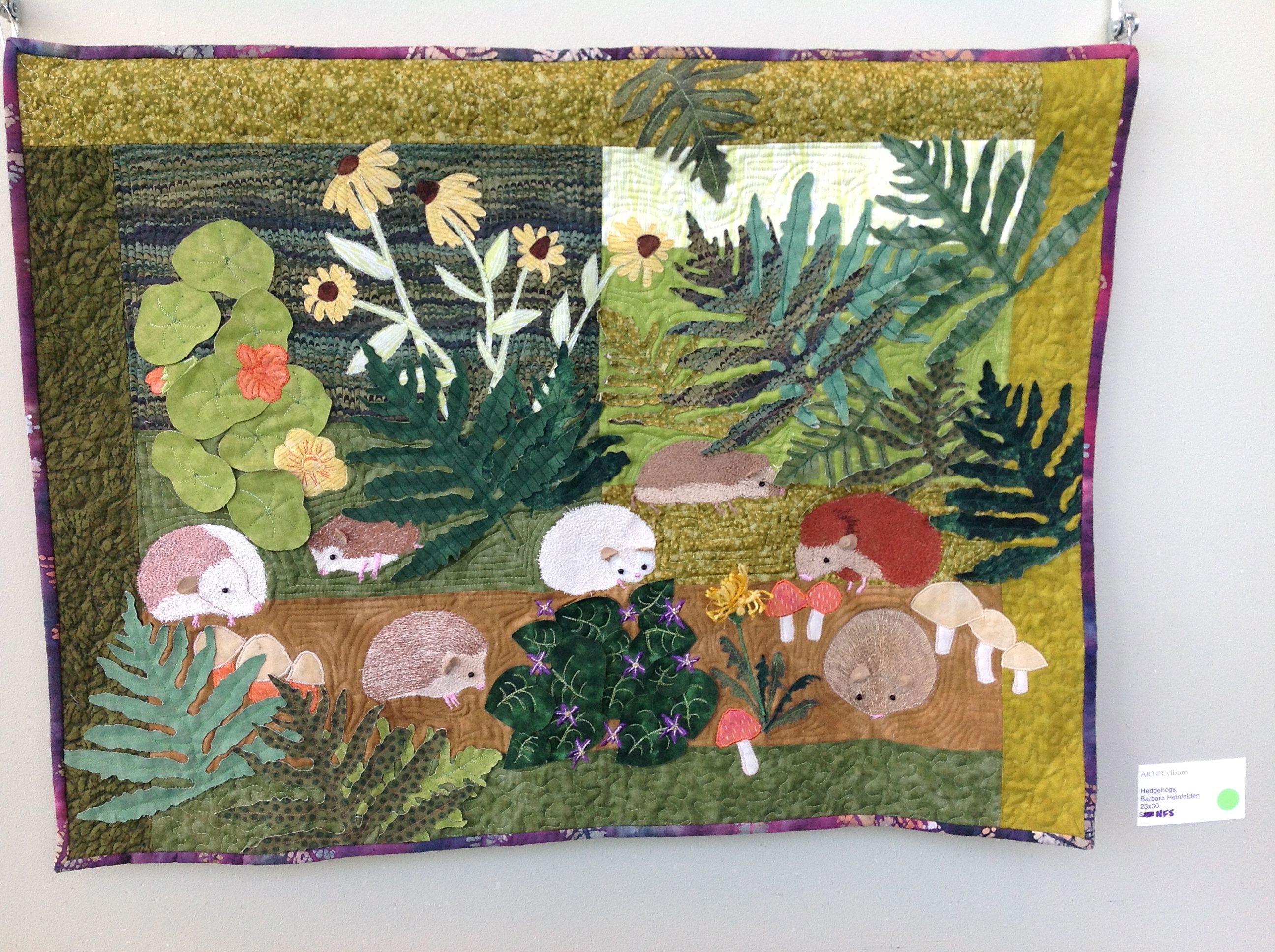 Nature Quilts: Find Inspiration   Tips on Craftsy